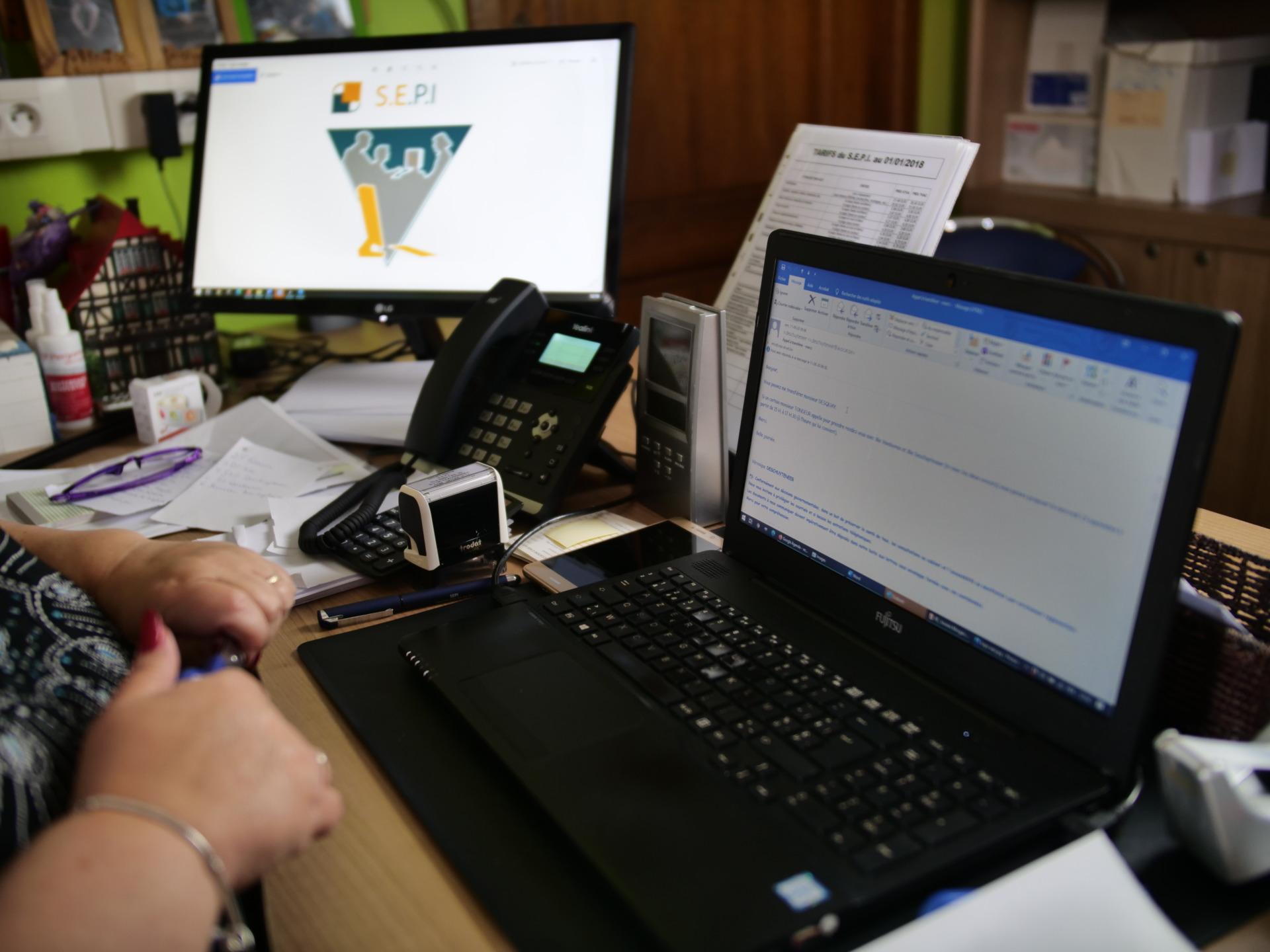Travaux de dactylographie et rédaction de votre courrier administratif | SEPI (Secrétariat Ecaussinnois pour Particuliers et Indépendants)